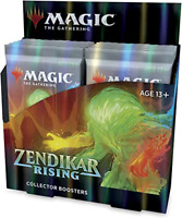 Zendikar Rising 12 ct. Collector Booster Box NEW FACTORY SEALED MTG SHIPS 9/25!