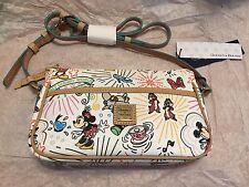 Dooney & Bourke Disney Mickey Minnie Dumbo Castle Chip Dale Purse Crossbody Nwt