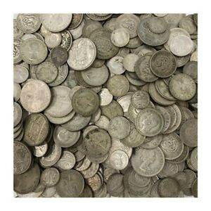 500 GRAMS HALF KILOGRAM  AUSTRALIAN SILVER COINS 1946-63; 50% SILVER  'POST'