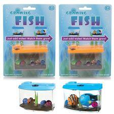 2 x Magic Growing Poissons dans Aquarium jouet Pet Tank-PARY Sac Remplissage Jouets 09038
