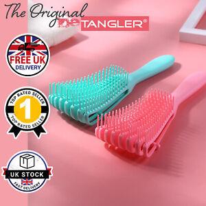 PINK Hairbrush Detangling Brush Anti Tangle Hair Brush UK