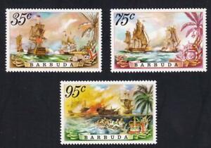 Barbuda 1975 sc#209-212 Battle of the Saints, MNH set [26]