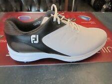 FootJoy Mens ARC XT Golf Shoes White/Black/Brown Sz 10.5M Discontinued Style