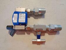 Krohne Variable Area Flowmeter W Differential Pressure Regulator Dk32