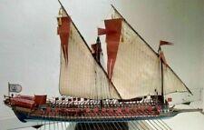 Heller La Reale de France 1:75 - two sails for model sewed on CNC machine