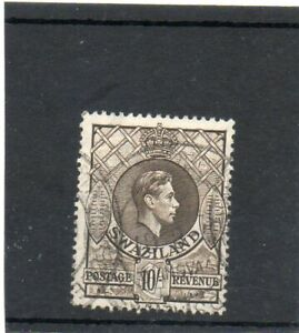 SG 38 SWAZILAND 10/- USED CAT £12
