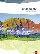 Fundamente Geographie. Schülerbuch Oberstufe (2014, Gebundene Ausgabe)