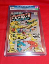 BRAVE &THE BOLD # 29 CGC 3.0 2ND APP JUSTICE LEAGUE OF AMERICA 1ST XOTAR 1960 DC