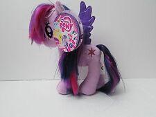 "PRINCESS TWILIGHT SPARKLE 6.5"" Plush Doll My Little Pony Aurora Mylar Hair NEW"