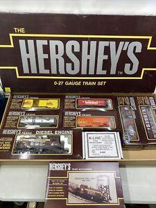 Hershey's 0-27 Gauge K-LINE Train Set 6 Unit +2 Additional Electric Train Set