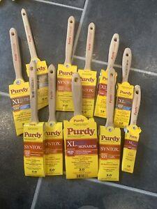 purdy paint brushes Job Lot 11 Brushes
