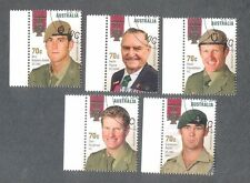 Australia-Victoria Cross set 2015 fine used cto military-soldiers