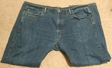 Levi's 42x30 505 Classic Straight Medium Wash Denim Mens Jeans Great Condition
