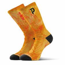 Primitive Skateboards Dragon Ball Z Saiyan Goku Yellow Crew Socks