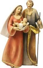 Krippenfiguren Krippenblock Heilige Familie modern Größe ca.18,5cm