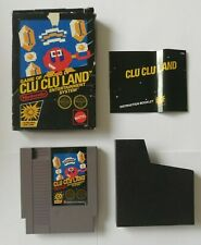 NES Clu Clu Land - Boxed with Instructions - Fully Working