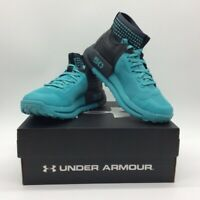 Under Armour Mens Horizon 50 Running Shoes Blue High Top 3000307-101 7.5 New