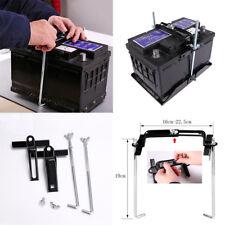 Car Storage Battery Holder Adjustable Stabilizer Metal Rack Mount Bracket Kit RW
