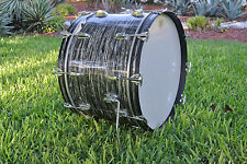 """ADD this 1966 Ludwig 22"""" BLACK OYSTER PEARL BASS DRUM to YOUR RINGO SET! #A200"""