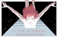 Craig Drake THE FIFTH ELEMENT Poster PRINT 24x36 AP 5th Limited Edition