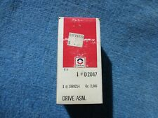 Delco Remy Starter Drive # D2047  GM 1989214 NOS NEW
