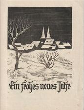 Ex libris PF by Unknown artist / Germany