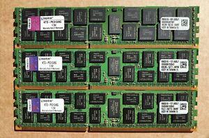 Kingston 24GB (3x 8GB) DDR3 PC3 10600R server RAM KTD-PE313/8G