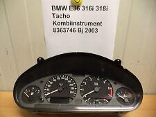 BMW 316i 318i E 36 Tacho Kombiinstrument 8363746 Bj 2003