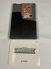 Track & Field (Nintendo System NES) Cleaned Tested Works w/manual - 5 Screw