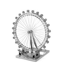 ICONX 3D Laser Cut Steel Model Kit U.K. London Eye Ferris Wheel Cool Model