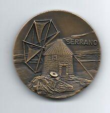 WINDMILL / SERRANO / BRONZE MEDAL BY BERARDO / # 135 / M33