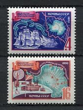 28989) RUSSIA 1970 MNH** Nuovi** Antarctic expedition 2v.