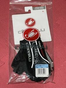 Castelli Rosso Corsa (Cycling) Classic Gloves. Men's Medium . New.