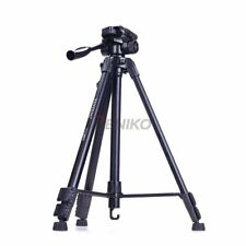 YUNTENG  590 VCT-590 Tripod with Damping Head for Canon & Nikon & Sony & Samsung