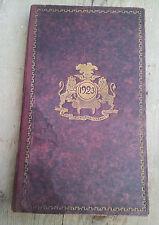 Ancien agenda 1923, PLM chemins de fer, illustration couleurs, old french book