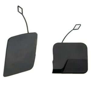 Cadillac Front+Rear Bumper Tow Hook Eye Cap Kit 10 - 16 SRX 25928246 25777324