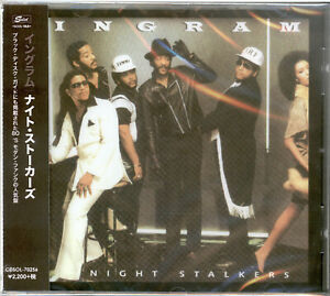 Ingram - Night Stalkers CD (Bonus Tracks Edition CD) JAPAN W/OBI CDSOL-70256