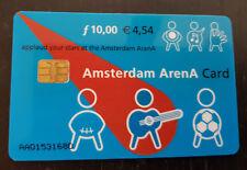 Amsterdam Arena Card 10 Gulden 4.54 euro Applaud your stars