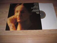 Vintage Frederica Von Stade Songs Of A Wayfarer Signed Album/LP/Free Shipping!