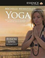Michelle Merrifield's Yoga Level Intermediate (DVD) NEW REGION FREE + FREE POST!