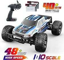 DEERC RC Cars 1:10 Scale Large High Speed Remote Control Car+ 2 Batteries