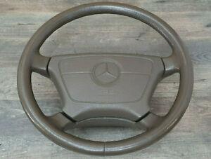 Mercedes W140  C140  CL Lenkrad Beige Braun Ausstattung 400mm