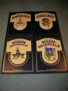 Enciclopedia Fiabe 4 Volumi: Europa-America-Inglesi