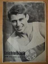 LEICHTATHLETIK 41 - 11.Oktober 1966 Gunther Spielvogel Bayer 04 Leverkusen