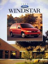 1996 Ford Windstar minivan new vehicle brochure