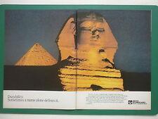 8/1984 PUB PRATT & WHITNEY JT8D ENGINES EGYPTE EGYPT PYRAMIDE SPHINX GUIZEH AD