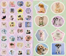 Cute Animals by Racheal Hale stickers. 30 stickers.(25)