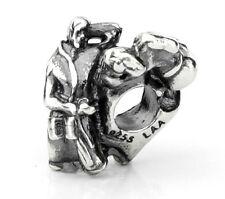Genuine Trollbeads Silver Charm - Breakfast - TAGBE-40037 RRP £50!!!