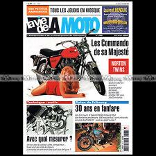 LA VIE DE LA MOTO LVM N°388 ★ SPECIAL NORTON TWIN 650 SS 750 ATLAS COMMANDO... ★