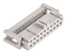 3M 2.54mm Pitch Right Angle Cable Mount IDC Connector, Socket, 20 Way, 2 Row